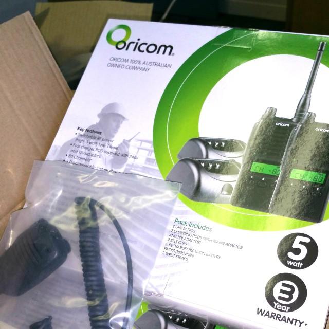 Oricom Hand-Held Radios
