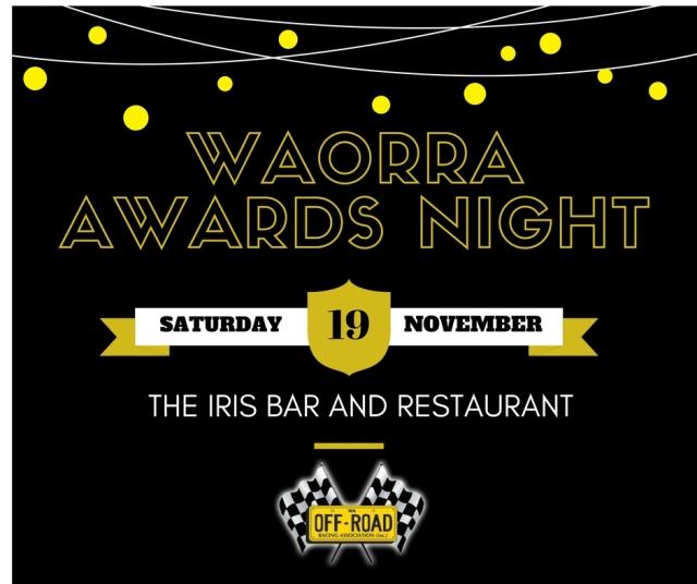 2016 WAORRA Awards Presentation Night