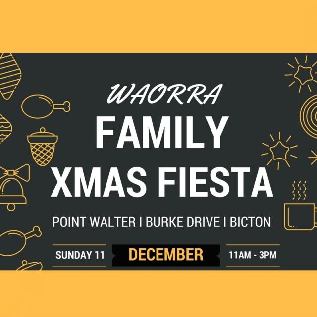 2016 WAORRA Family Xmas Fiesta