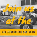 Join us at the ALl Australian Car Show 9 April