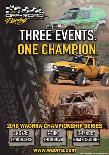 2018 WORRA Championship Series Poster